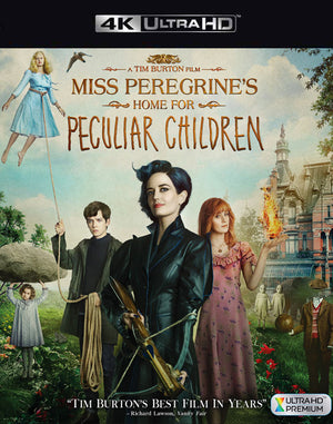 Miss Peregrine's Home for Peculiar Children VUDU 4K Through iTunes 4K