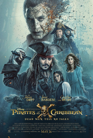 Pirates of the Caribbean: Dead Men Tell No Tales DMA,VUDU, iTunes, Google Play