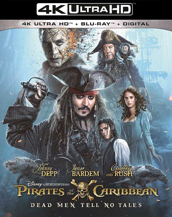Pirates of the Caribbean Dead Men Tell No Tales VUDU 4K MA 4K