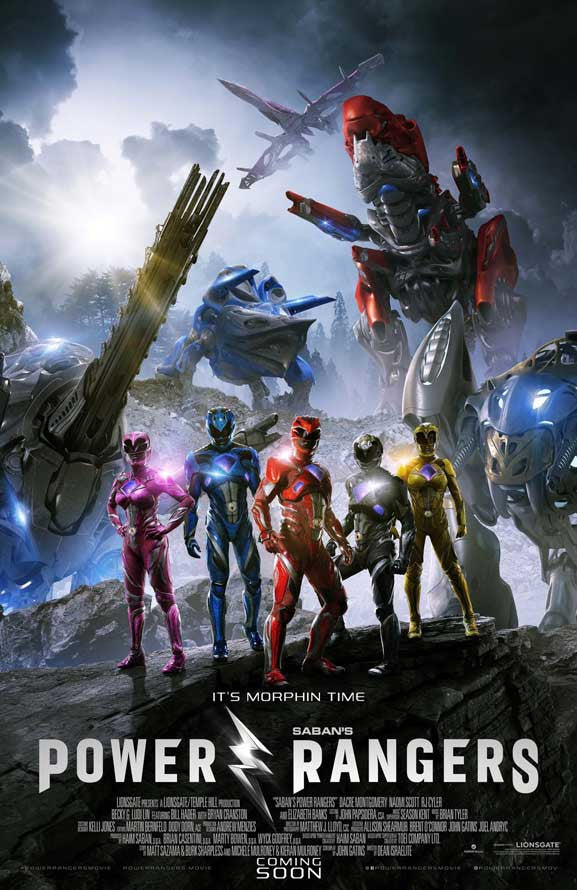 Power Rangers iTunes 4K