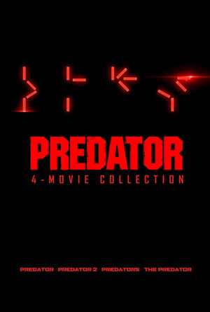 Predator 4 Movie Collection VUDU HD Instawatch