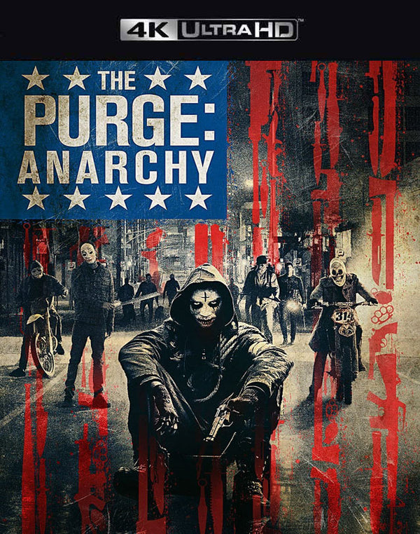 The Purge Anarchy VUDU 4K iTunes 4K MA 4K