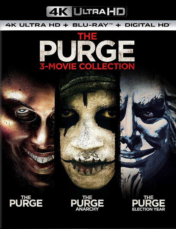 The Purge Trilogy UV 4K Now 4K In VUDU
