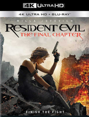 Resident Evil Final Chapter UV 4K or iTunes 4K via Movies Anywhere
