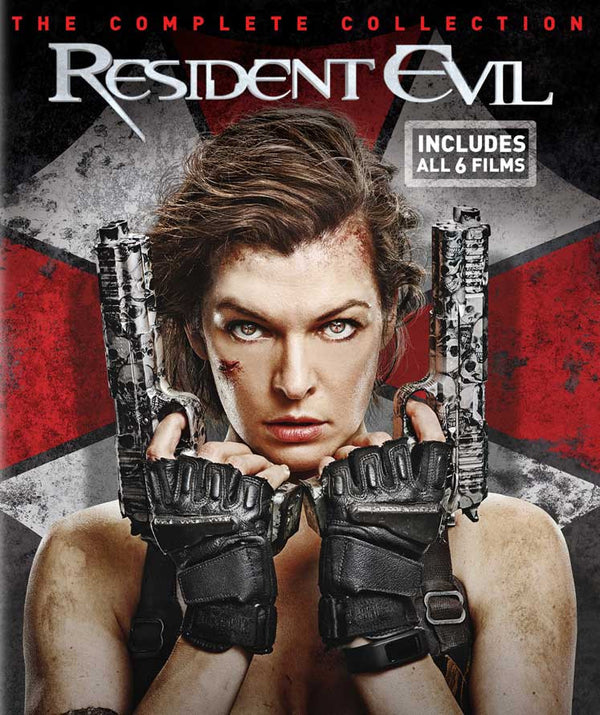 Resident Evil Complete Collection VUDU HD Instawatch (iTunes HD via MA)