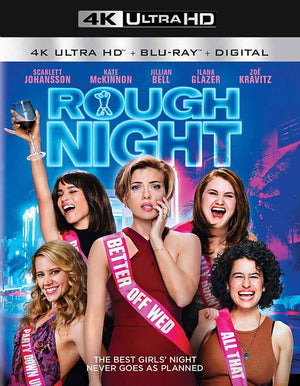 Rough Night UV 4k (4k In Sony) or iTunes 4K Via Movies Anywhere