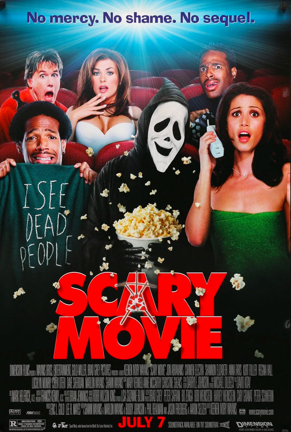 Scary Movie 1 VUDU HD or iTunes HD