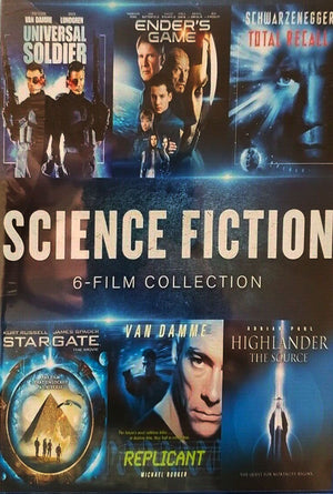 Science Fiction 6-Film Collection VUDU HD