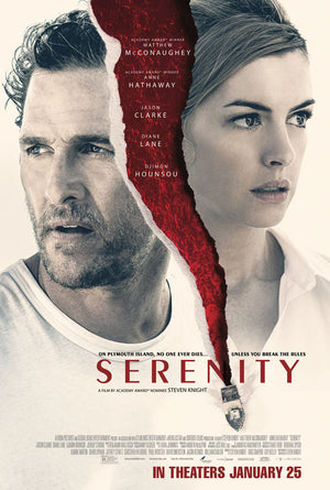 Serenity 2019 VUDU HD or iTunes HD via Movies Anywhere