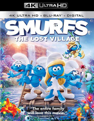 Smurfs the Lost Village UV 4K or iTunes 4K via Movies Anywhere
