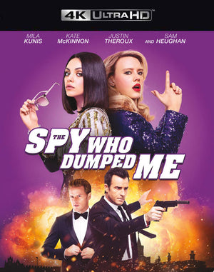 The Spy Who Dumped Me VUDU 4K or iTunes 4K