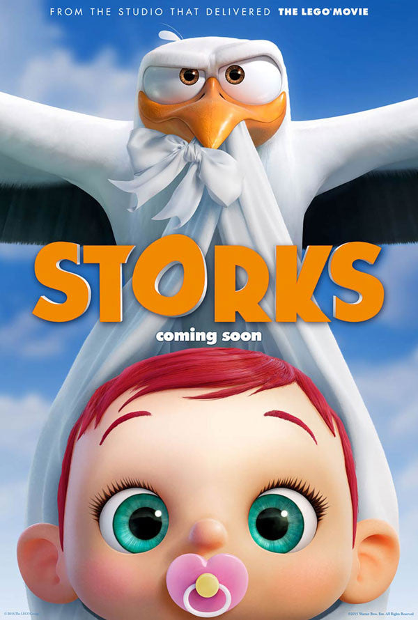 Storks HD UV or iTunes HD via Movies Anywhere