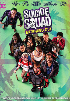 Suicide Squad Extended Edition UV HD or iTunes HD via Movies Anywhere