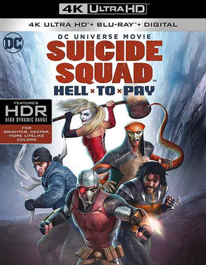 Suicide Squad Hell to Pay UV 4K (FandangoNow) or iTunes 4K Via Movies Anywhere