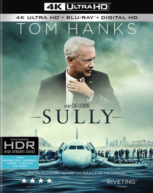 Sully VUDU 4k or iTunes 4K Via Movies Anywhere