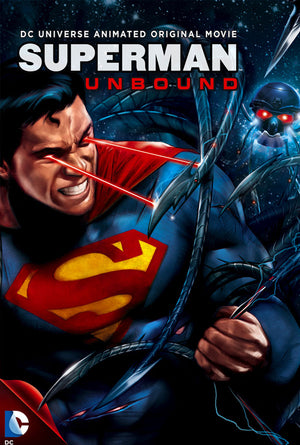 Superman Unbound VUDU HD or iTunes HD via Movies Anywhere