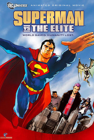 Superman Vs the Elite VUDU HD or iTunes HD via Movies Anywhere