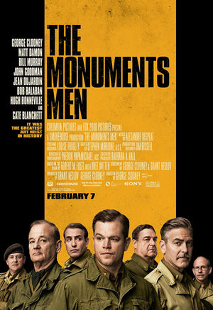 The Monuments Men UV HD or iTunes HD via Movies Anywhere