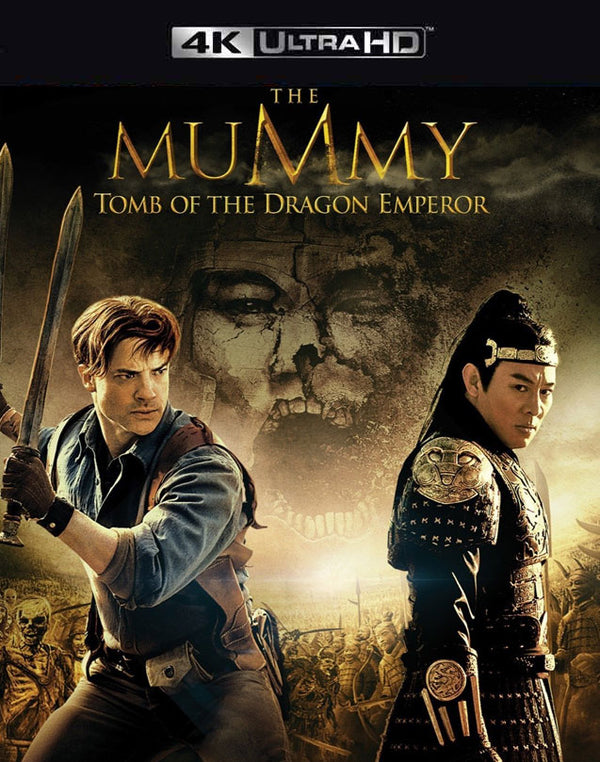 The Mummy Tomb of the Dragon Emperor VUDU 4K