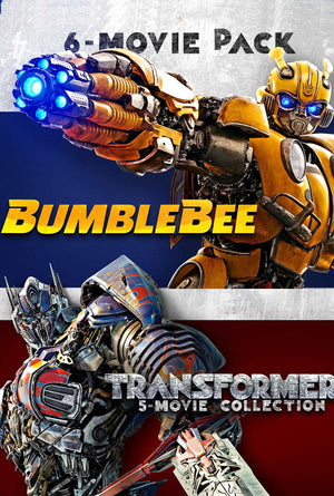 Transformers 6-Movie Collection VUDU HD Instawatch