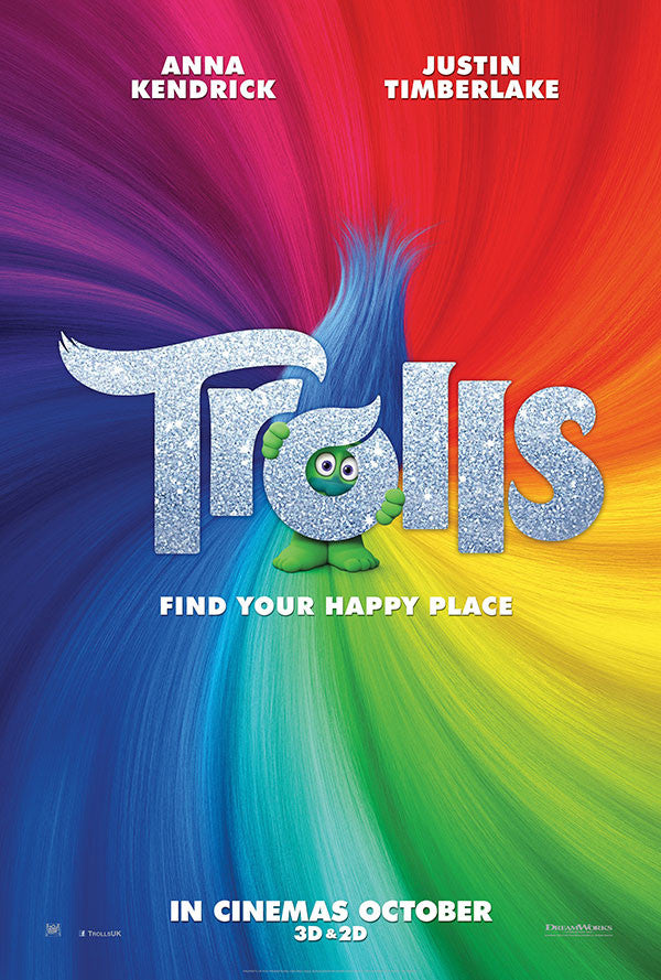 Trolls VUDU HD or iTunes HD Via Movies Anywhere