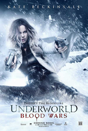 Underworld Blood Wars UV HD OR iTunes HD via Movies Anywhere