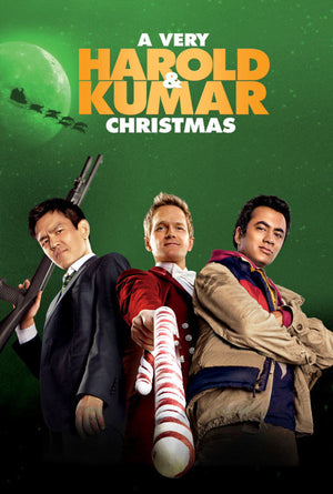 A Very Harold & Kumar Christmas VUDU HD or iTunes HD via Movies Anywhere