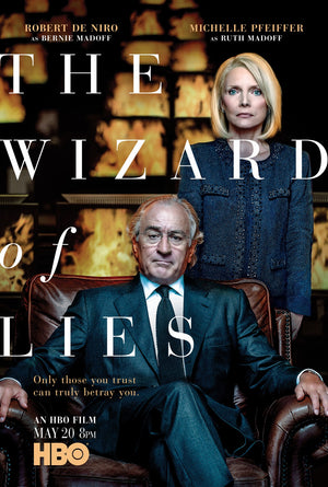 The Wizard of Lies UV, iTunes or Google Play