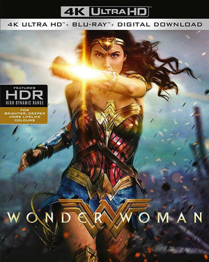 Wonder Woman (THE FIRST MOVIE)  VUDU 4K or iTunes 4K via MA