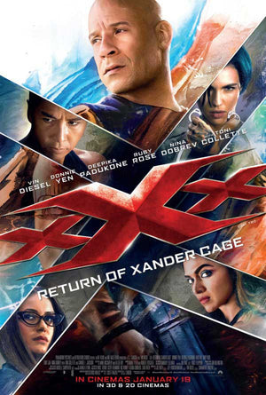 XXX The Return of Xander Cage iTunes 4K