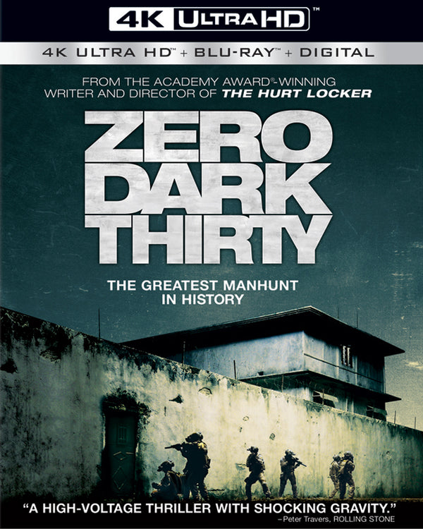 Zero Dark Thirty UV 4k (4k in Sony) and iTunes HD