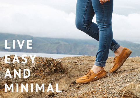 live easy and minimal in Lems Shoes