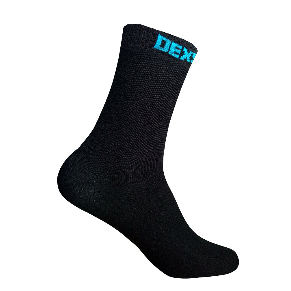 Ultra-Thin Waterproof Sock - Crew - Black
