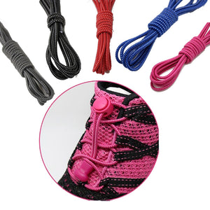 No-Tie Elastic Shoelaces - 5 Colours