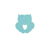 Silicone Owl Teether - Choose Your Color - eggie baby