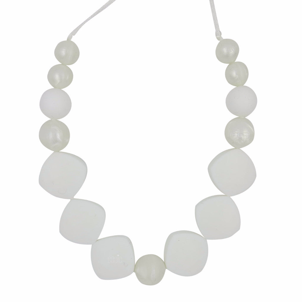 "Teething Necklace - ""Jolin"" - eggie baby"