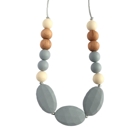 "Teething Necklace - ""Becky"" - eggie baby"