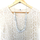 Teething Necklace - Classic Geo Monochrome - Choose your color! - eggie baby