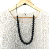 Teething Necklace - Classic Monochrome