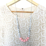 Teething Necklace Marble Classic - Choose Your Color