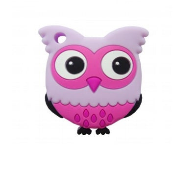 Silicone Cutie Owl Teether - Choose Your Color - eggie baby