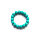 Silicone Teething Bracelet or Teething Ring - Choose Your Color - eggie baby