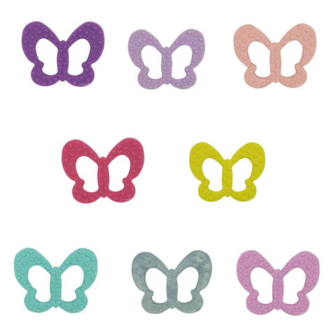 Silicone Butterfly Teether - Choose Your Color - eggie baby