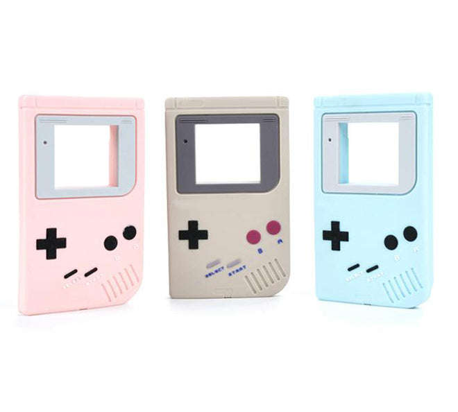 Silicone Game Boy Teether - Choose Your Color - eggie baby