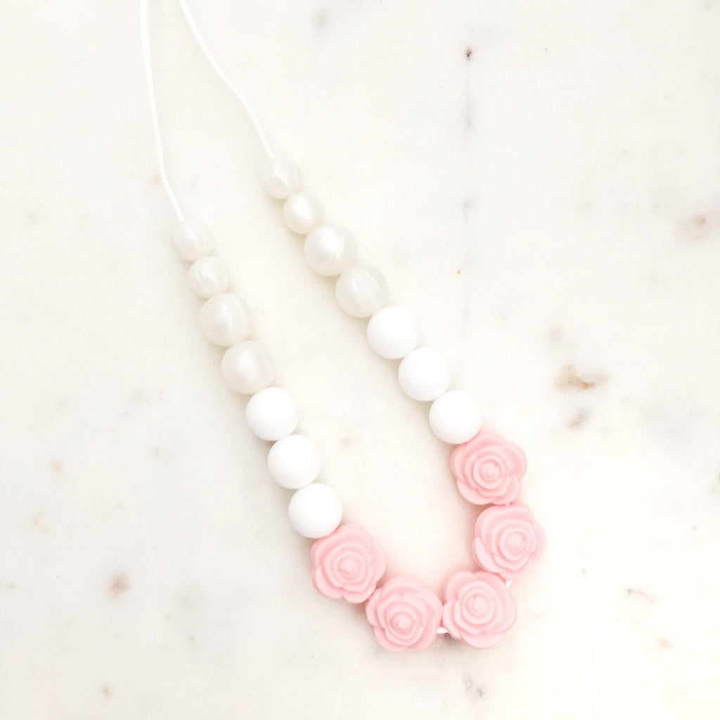 "Teething Necklace  - ""Katherine"" - eggie baby"