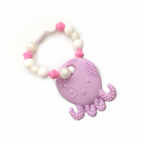 Teething Toy Octopus - Lilac