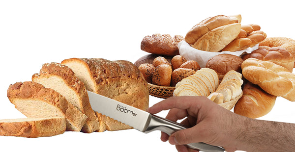 # 18 - Stainless Steel Kitchen Bread Knife