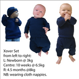 New Born Xover Top & Pant set