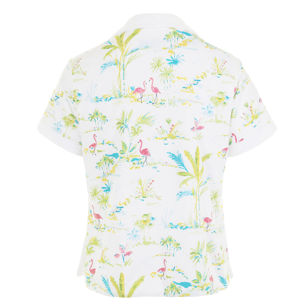 Mabes Terry Towel Shirt (Flamboyance)