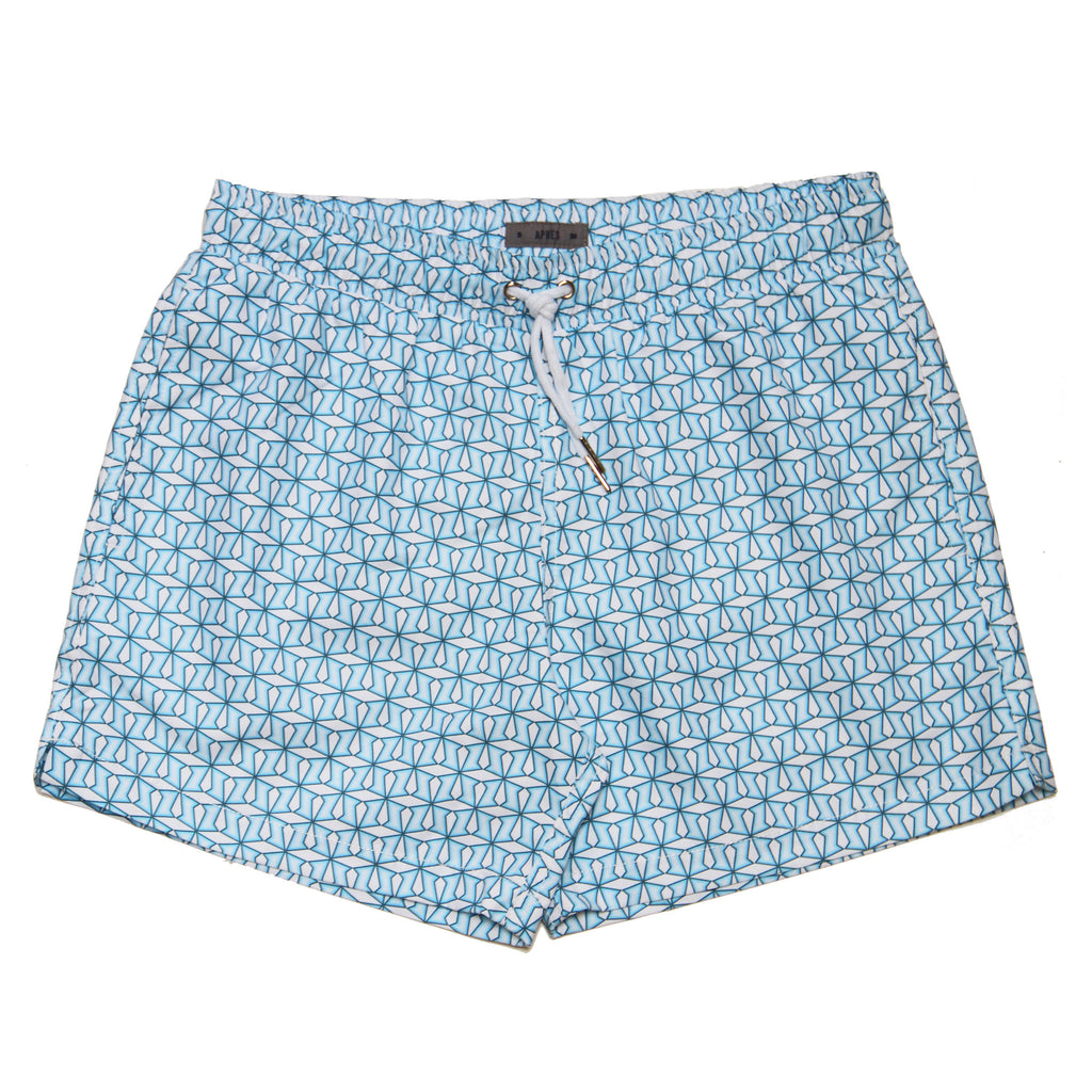APRES Metric Blue Swimshorts